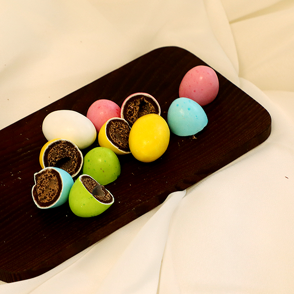 Kitokį džiaugsmą teikiantis Šv. Velykų simbolis – šokoladinis kiaušinis