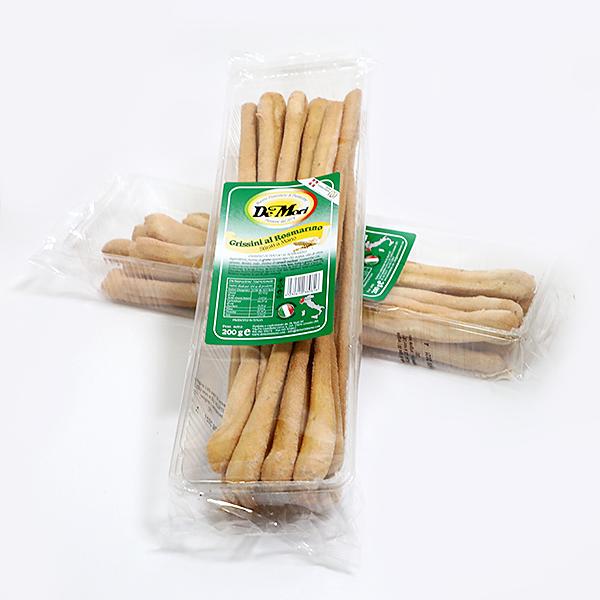 Duonos lazdelės Grissini su rozmarinu 200g