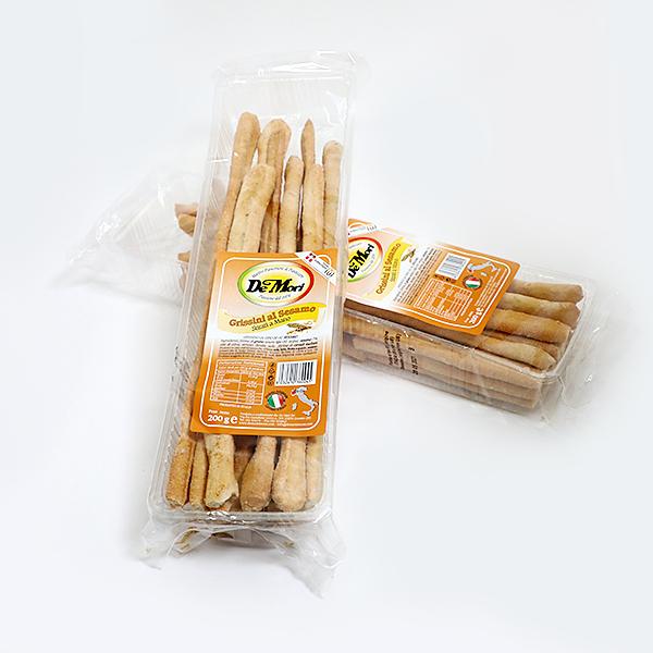 Duonos lazdelės Grissini su sezamu 200g