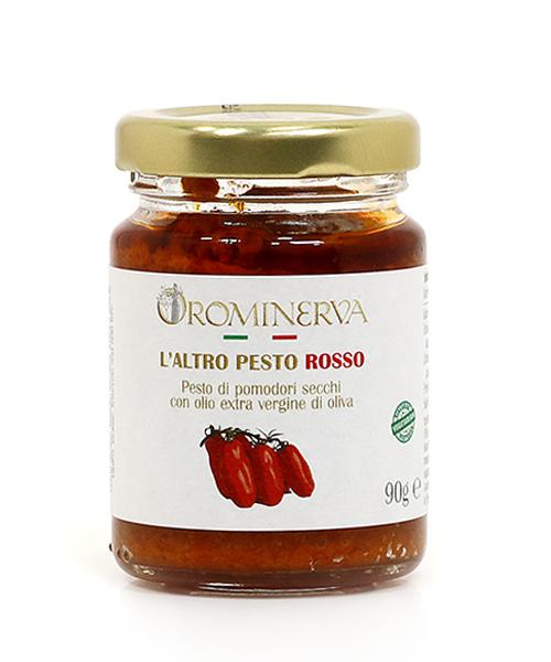 Raudonasis pesto su džiovintais pomidorais 90 g