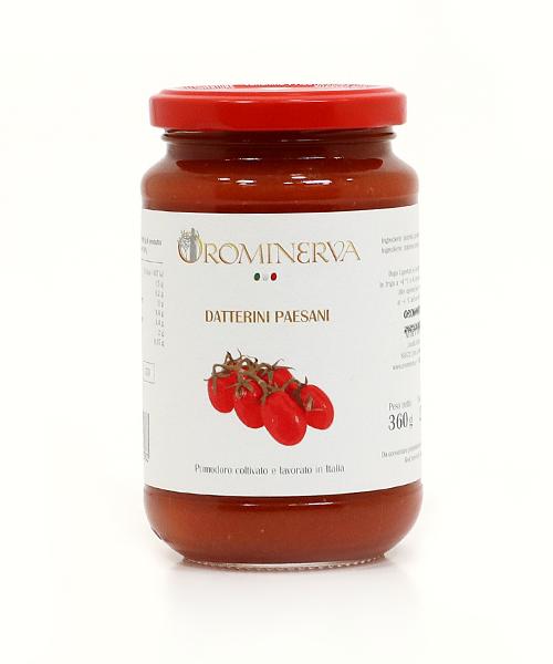 Datterino pomidoriukai savo sultyse 360 g