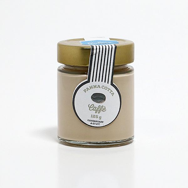 Kavos ir grietinėlės Panna Cotta desertas  125g