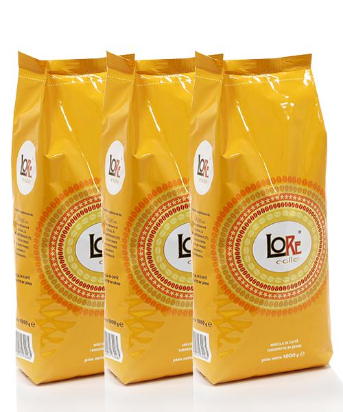 Kavos pupelės LoRe 1 kg   3vnt