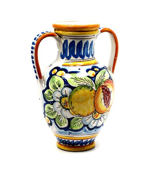 Keramikinė vaza su ąselėmis