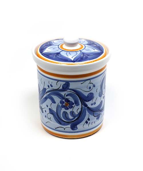 Keramikinis indas su dangčiu