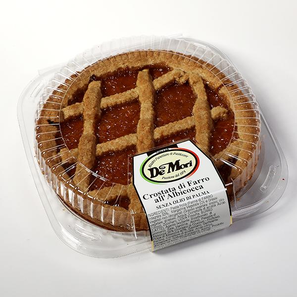 Abrikosų pyragas su speltos miltais 440 g